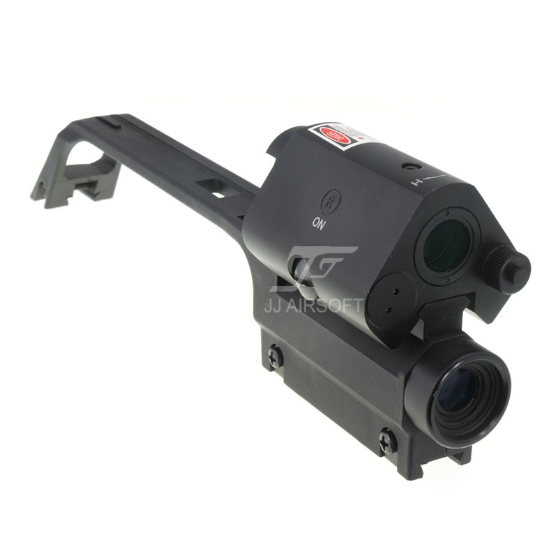 Ja 5337 Jj Airsoft G36 Carry Handle 3 5x Scope And Red