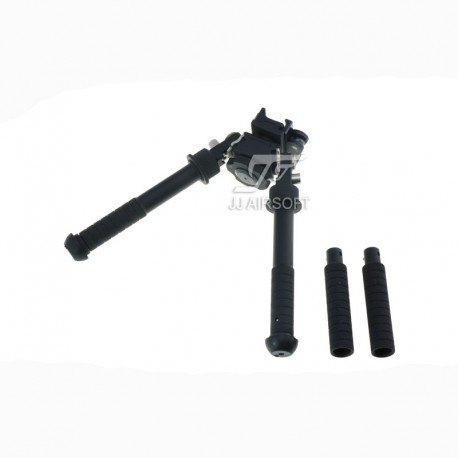 JA-1111   JJ Airsoft BT10 Atlas Bipod with AD170S Mount and 3-inch Leg  Extensions   Airsoft Cart International   Free Shipping