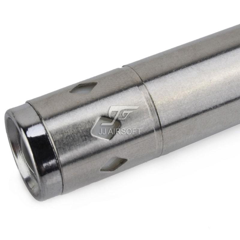 Ja 6047 element stainless steel aaa small flashlight for Stainless steel elements